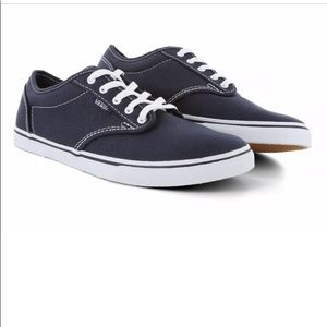NIB Womens Vans Navy- 6.5